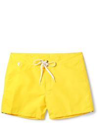 gelbe Badeshorts von Sundek