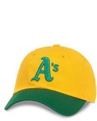 gelbe Baseballkappe