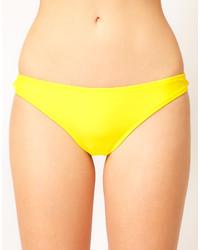 gelbe Bikinihose von Asos