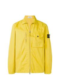 Stone Island 'Giubbino' Jacke Gelb in Yellow