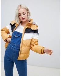 gelbe Daunenjacke von New Look