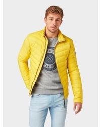 gelbe Daunenjacke von Tom Tailor