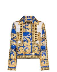 gelbe Daunenjacke von Versace