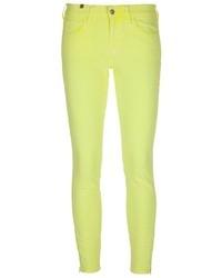 gelbe enge Jeans von Notify Jeans