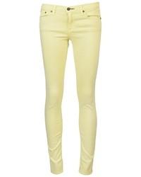gelbe enge Jeans von Rag and Bone