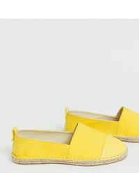 gelbe Espadrilles von ASOS DESIGN