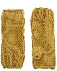 gelbe Handschuhe von Selected