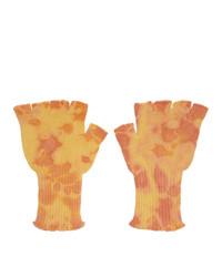 gelbe Handschuhe von The Elder Statesman
