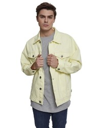 gelbe Jeansjacke von Urban Classics