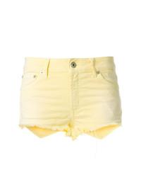 gelbe Jeansshorts von Dondup