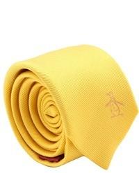 gelbe Krawatte