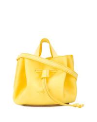 gelbe Leder Beuteltasche von Marsèll