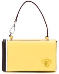 Gelbe Leder Clutch von Emilio Pucci