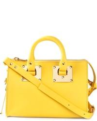 gelbe Lederhandtasche von Sophie Hulme