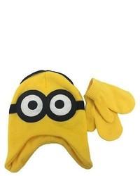 Gelbe Mütze