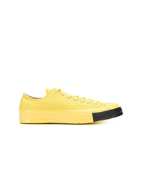 gelbe niedrige Sneakers von Converse
