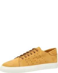 gelbe niedrige Sneakers von Darkwood