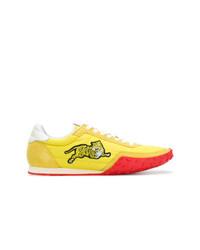 gelbe niedrige Sneakers von Kenzo
