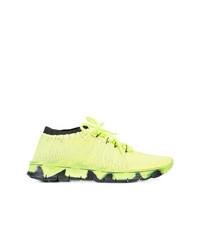 gelbe niedrige Sneakers von Maison Margiela