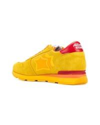 gelbe niedrige Sneakers von atlantic stars