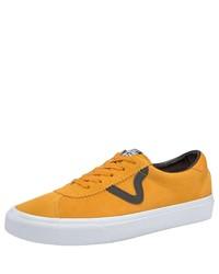 gelbe niedrige Sneakers von Vans