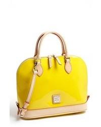 gelbe Satchel-Tasche