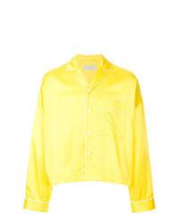gelbe Shirtjacke