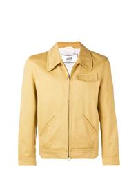 gelbe Shirtjacke von AMI Alexandre Mattiussi