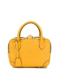 gelbe Shopper Tasche aus Leder von Golden Goose Deluxe Brand