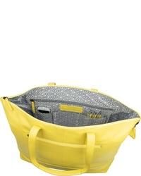 gelbe Shopper Tasche aus Leder von Jost