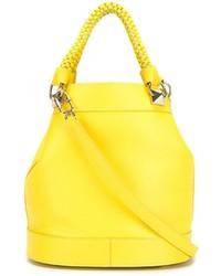 gelbe Shopper Tasche aus Leder von Sonia Rykiel