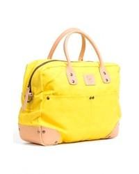 gelbe Shopper Tasche aus Segeltuch