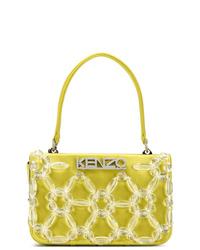 gelbe Shopper Tasche aus Segeltuch von Kenzo