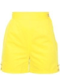 gelbe Shorts