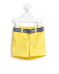 gelbe Shorts von Ralph Lauren