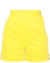 gelbe Shorts von Versace