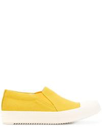 gelbe Slip-On Sneakers von Rick Owens