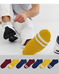 gelbe Sneakersocken von ASOS DESIGN
