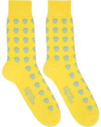 gelbe Socken von Alexander McQueen
