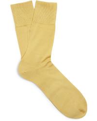 gelbe Socken von Falke