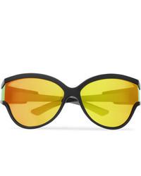 gelbe Sonnenbrille von Balenciaga