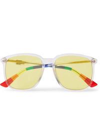 gelbe Sonnenbrille von Gucci