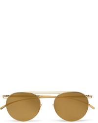 gelbe Sonnenbrille von Maison Margiela