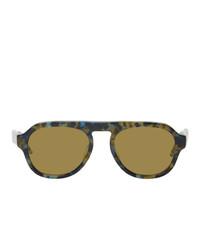 gelbe Sonnenbrille von Thom Browne
