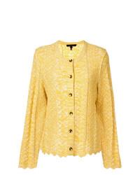 gelbe Strick Strickjacke von Marc Jacobs