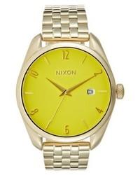 gelbe Uhr von Nixon