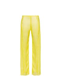 gelbe weite Hose aus Seide von Supriya Lele