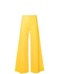 gelbe weite Hose von Emanuel Ungaro Vintage