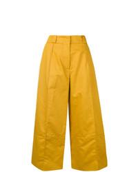 gelbe weite Hose von Marni