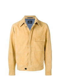 gelbe Wildleder Bomberjacke von PS Paul Smith
